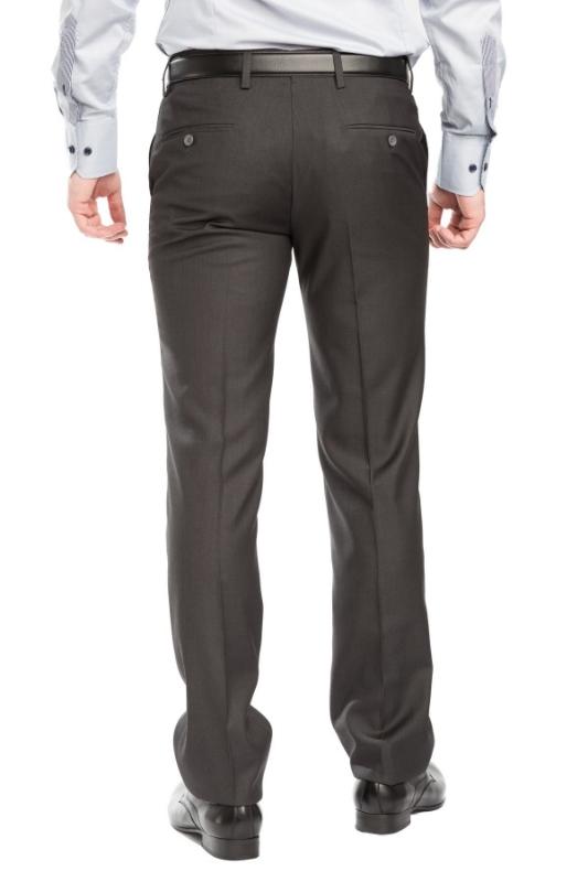 Pantaloni barbati casual maro A 1587-17
