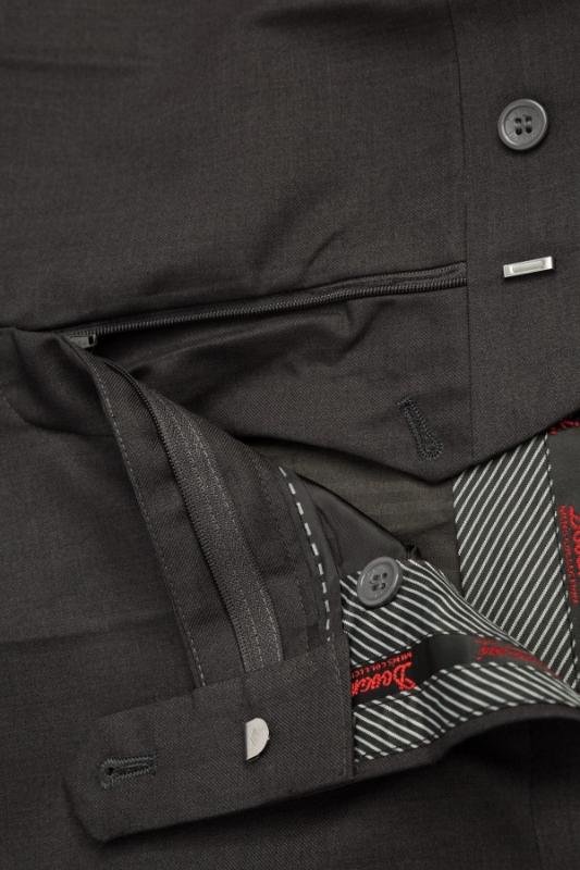 Pantaloni clasici maro A 1587-17
