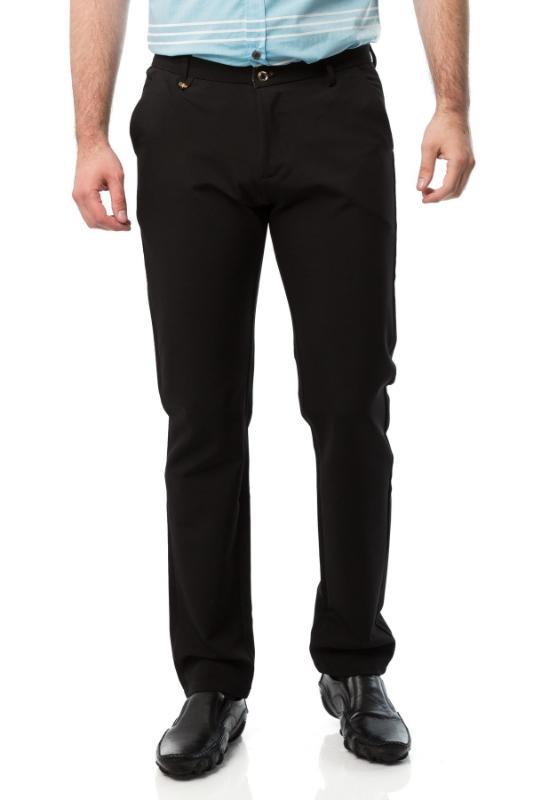 Pantaloni barbati slim negri 601