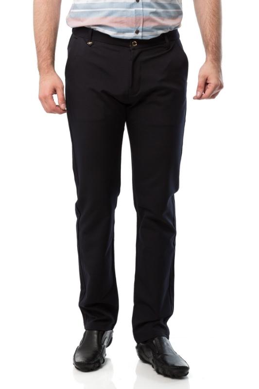 Pantaloni barbati slim bleumarin 601