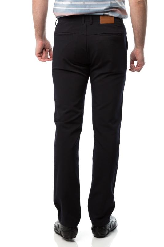 Pantaloni slim bleumarin 601