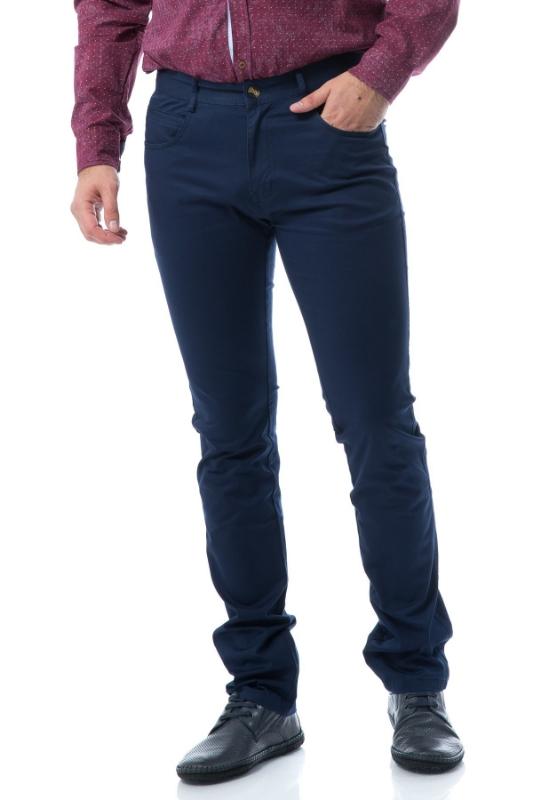 Pantaloni barbati bleumarin 820-2