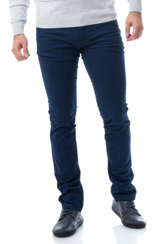 Pantaloni barbati bleumarin 820-3
