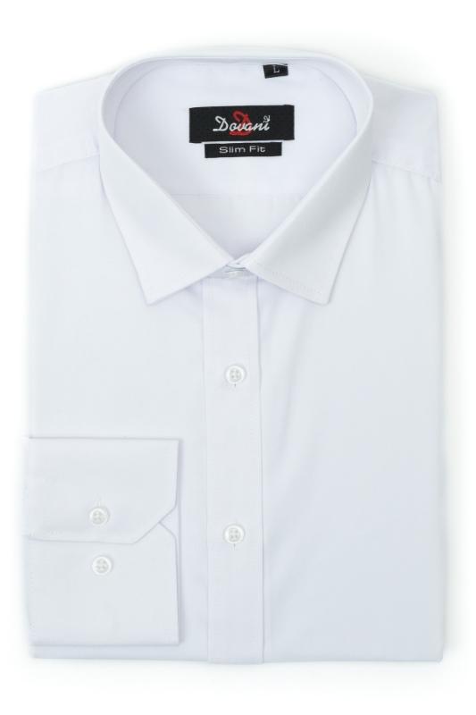 Camasa barbati alba slim 7005-1