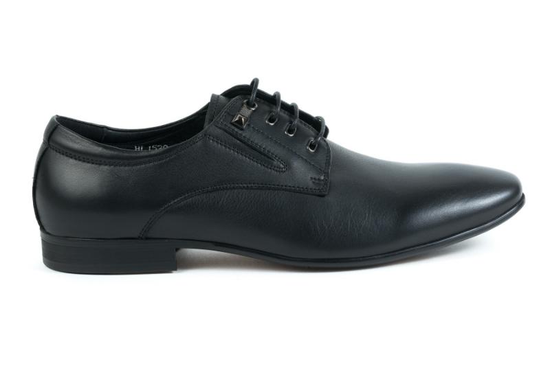 Pantofi barbati negri HL1539-20-A18