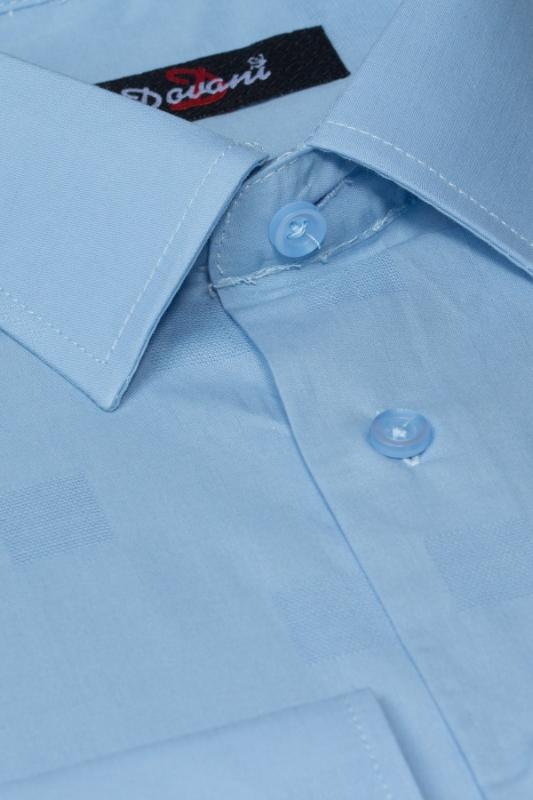 Camasa simpla bleu A01