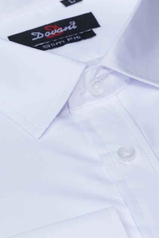Camasa alba slim S-0047-4701