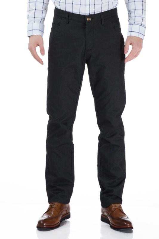 Pantaloni barbati negri R830-4