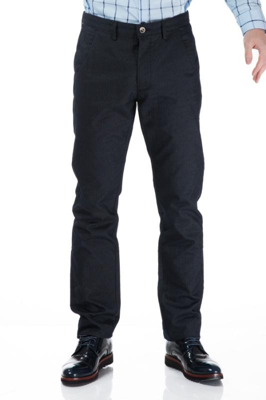 Pantaloni barbati bleumarin R830-3