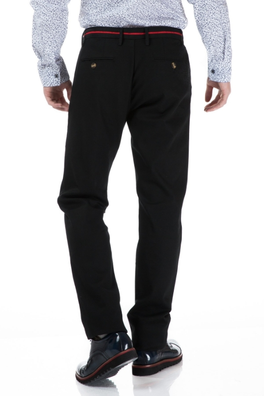 Pantaloni negri S833-1