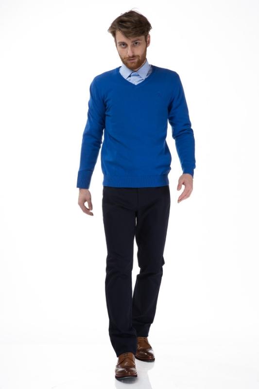 Pulover barbati albastru 206
