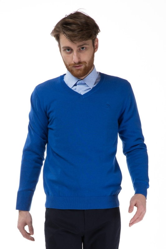 Pulover albastru 206