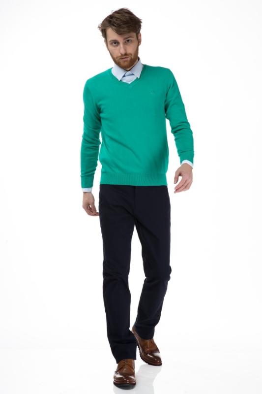 Pulover barbati verde 206