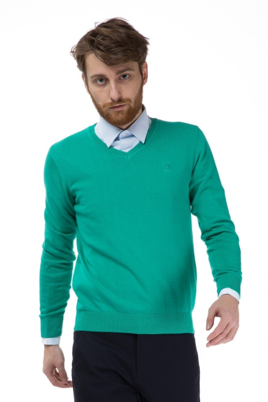Pulover verde 206