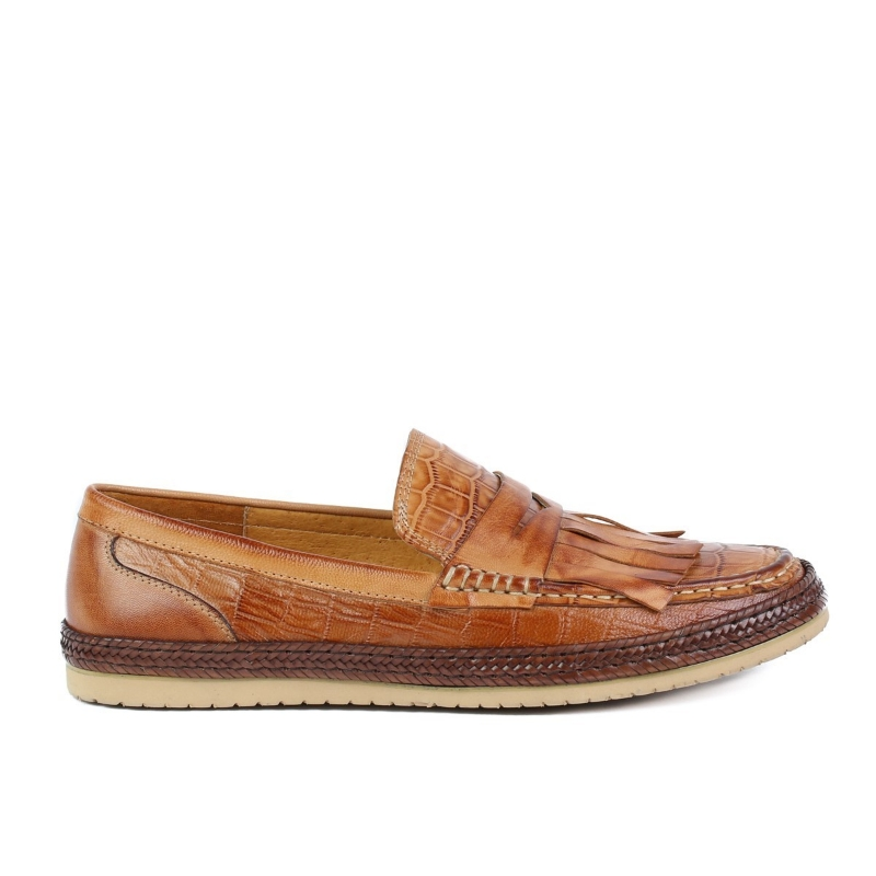 Pantofi maro A590-6 BROWN