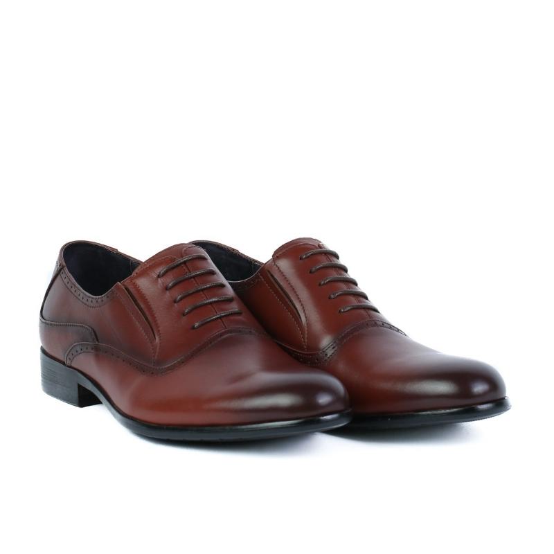 Pantofi maro 1833-5 RED BROWN