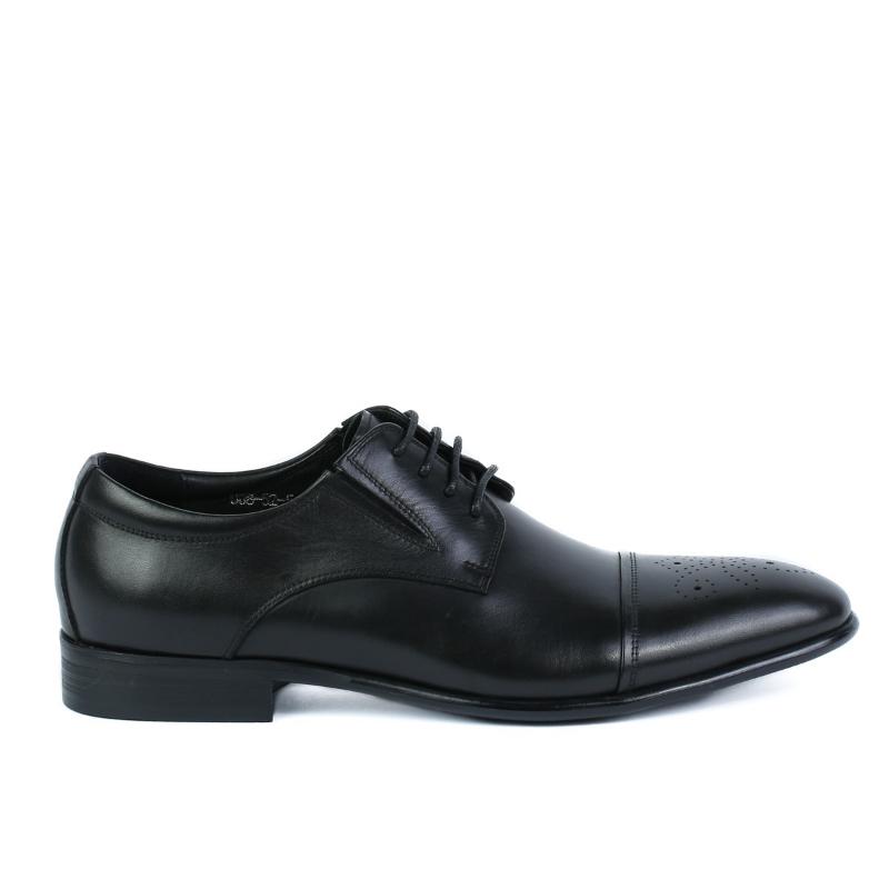 Pantofi negri 008-52-51A BLACK