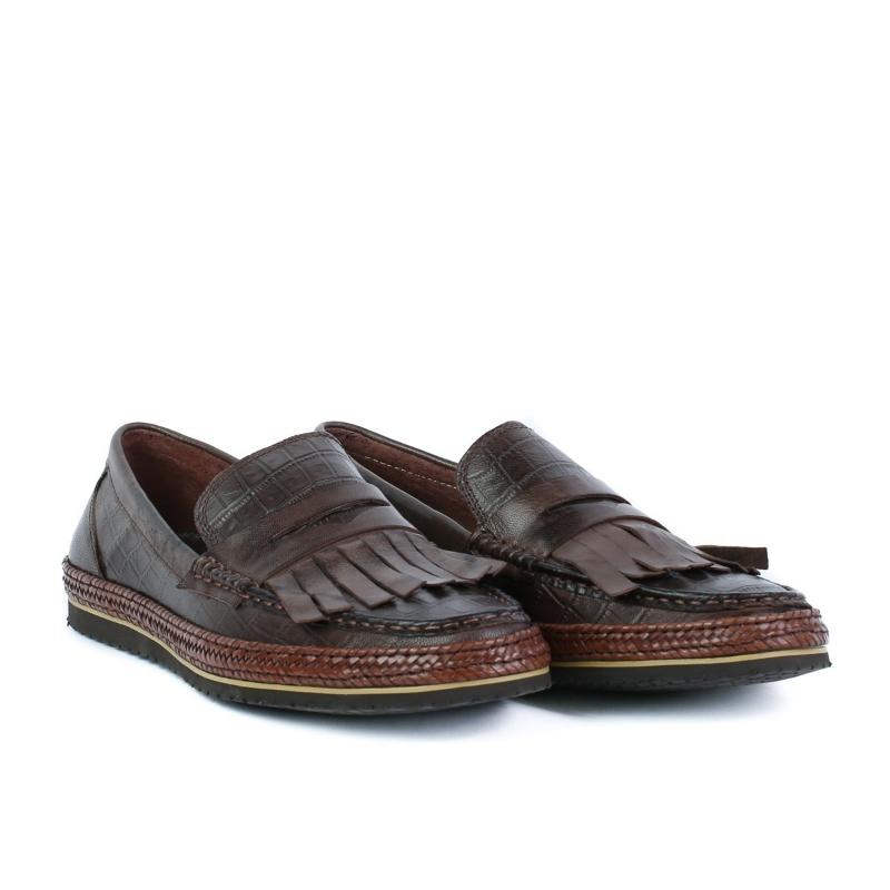 Pantofi maro A590-6 COFFEE