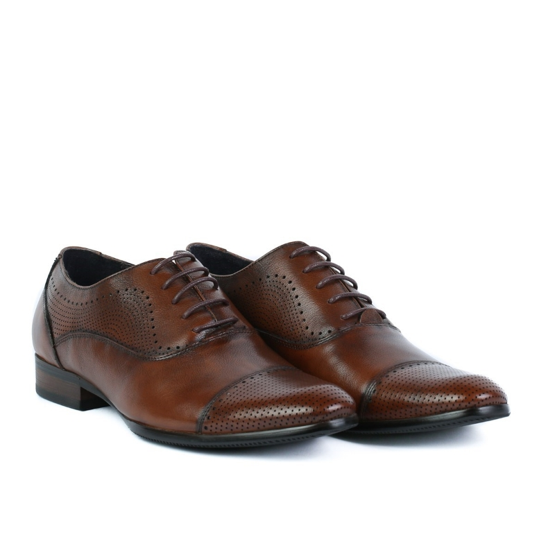 Pantofi eleganti maro Y57106A BROWN