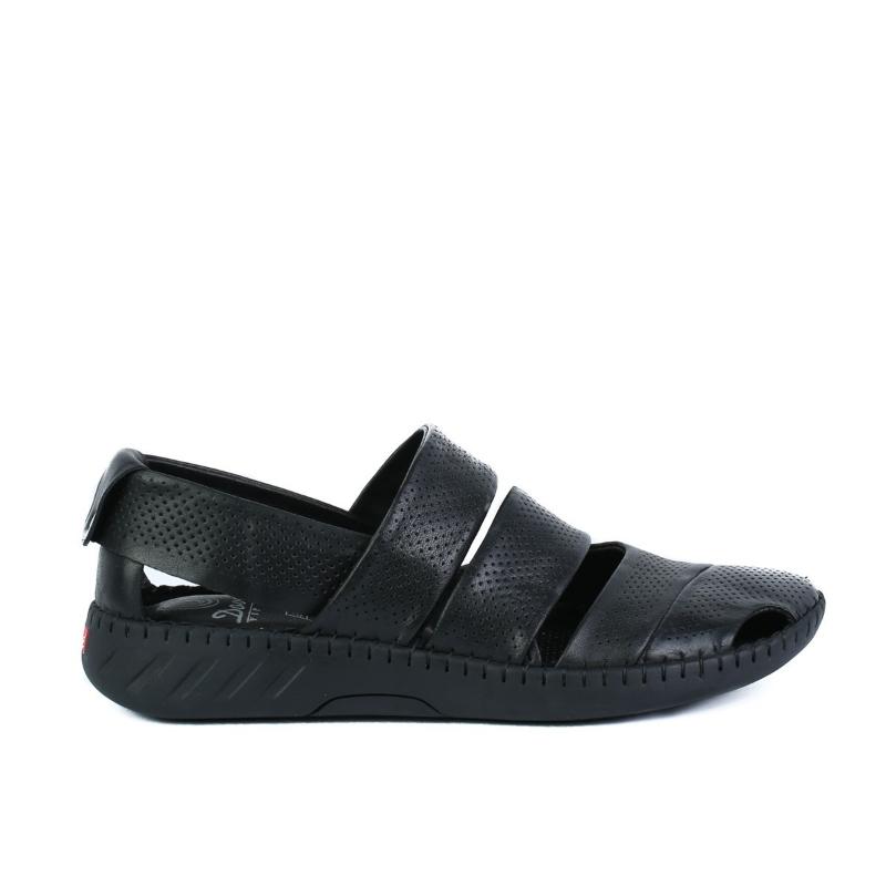 Sandale negre 2138-2 BLACK