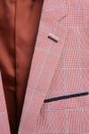Sacou roz in carouri A696125-86