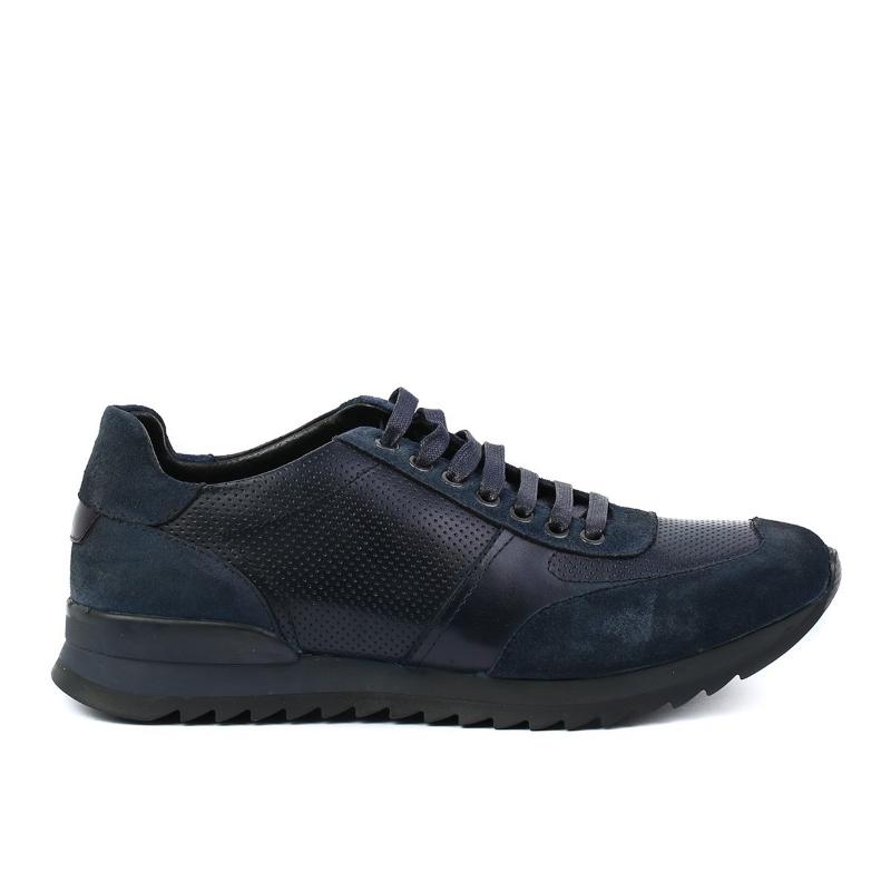 Imagine Pantofi bleumarin E034-3-1
