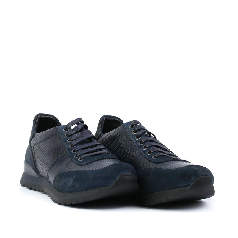Pantofi bleumarin E034-3-1