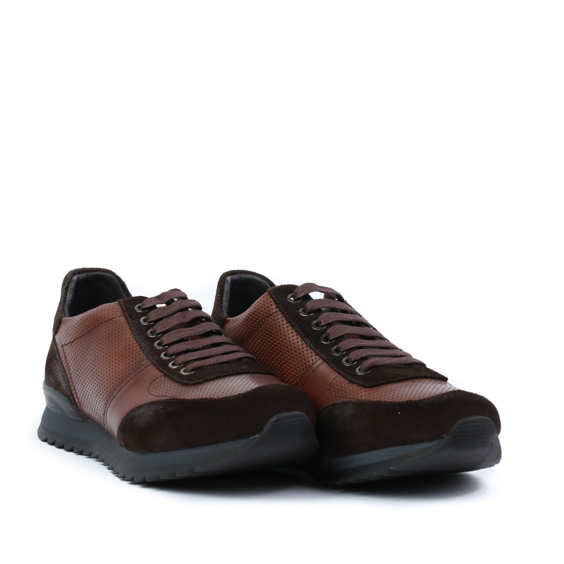 Pantofi maro E034-3-2