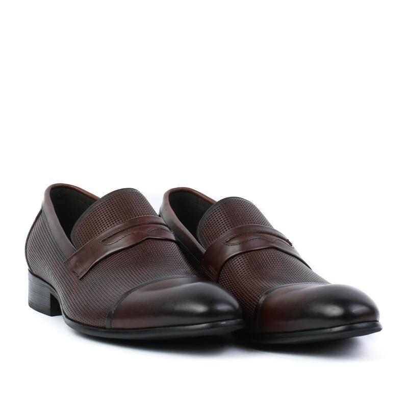 Pantofi maro-coffee JM531-25-1