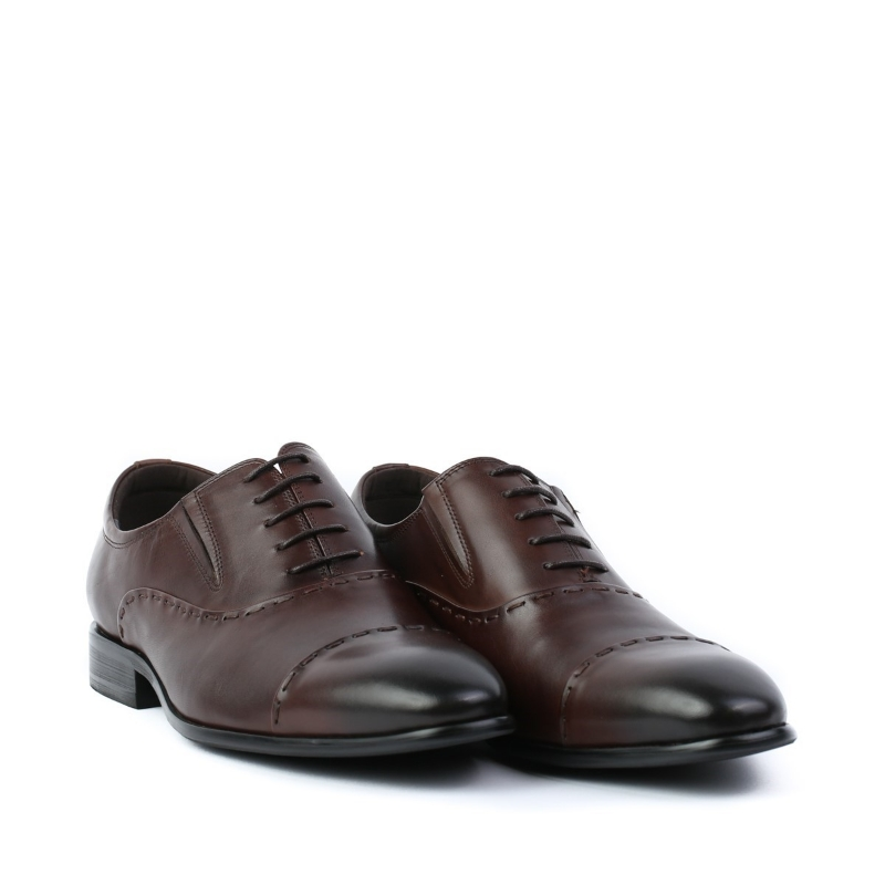 Pantofi maro-coffee JM550-028-1