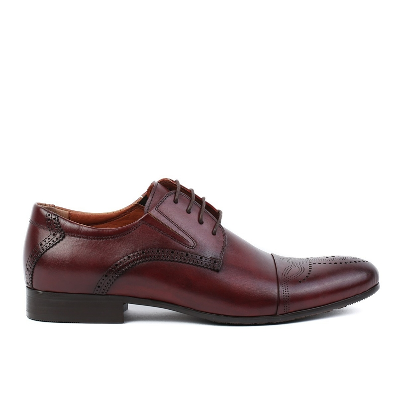 Imagine Pantofi burgundy JMHR55-1-522