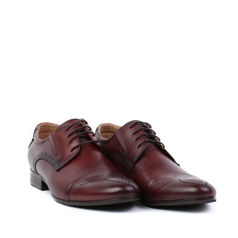 Pantofi burgundy JMHR55-1-522