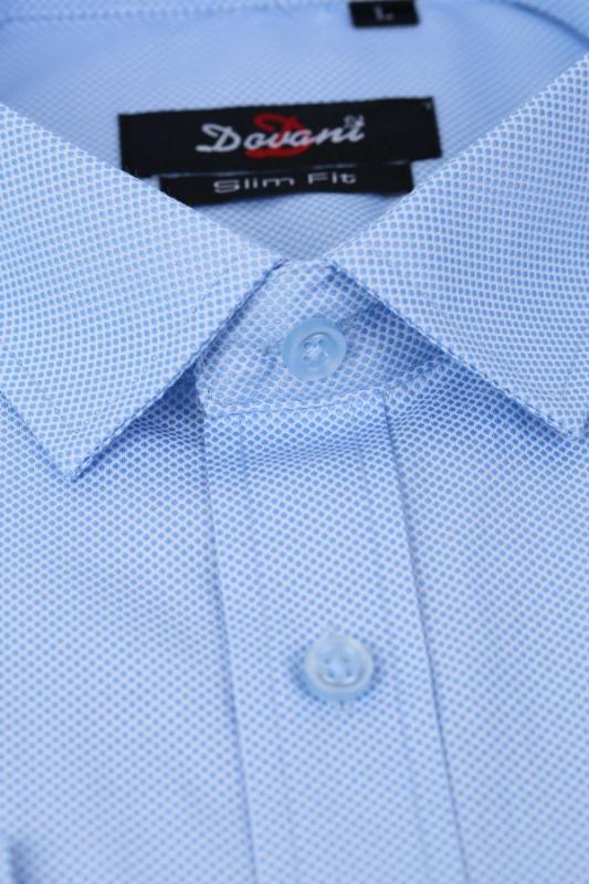 Camasa bleu slim 2689-2