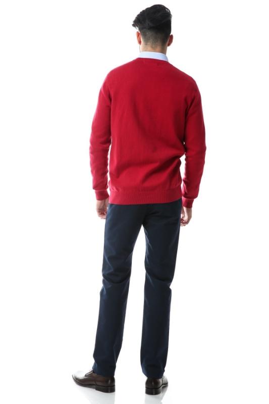 Pulover rosu 206-3