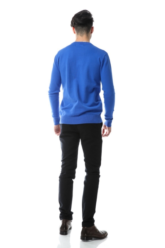 Pulover albastru 204-2
