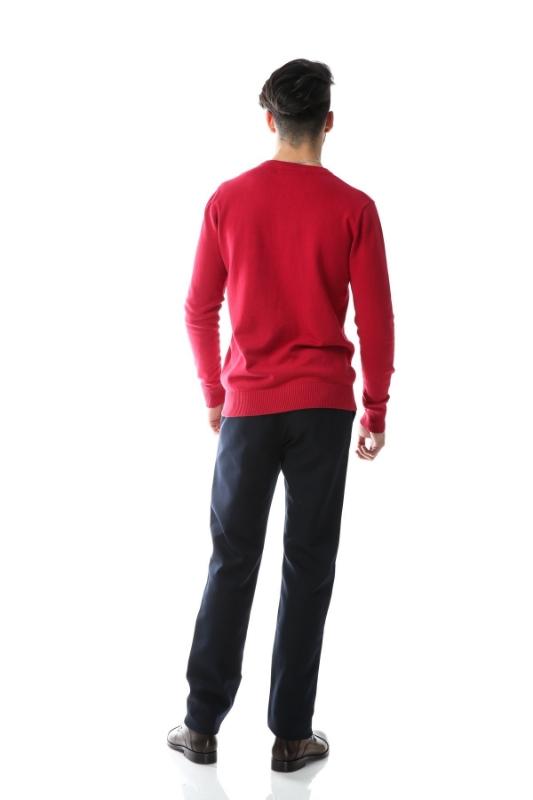 Pulover rosu 204-3