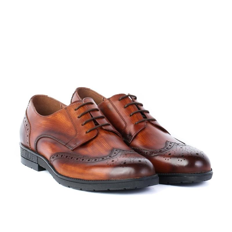 Pantofi brown Y1806-5-J