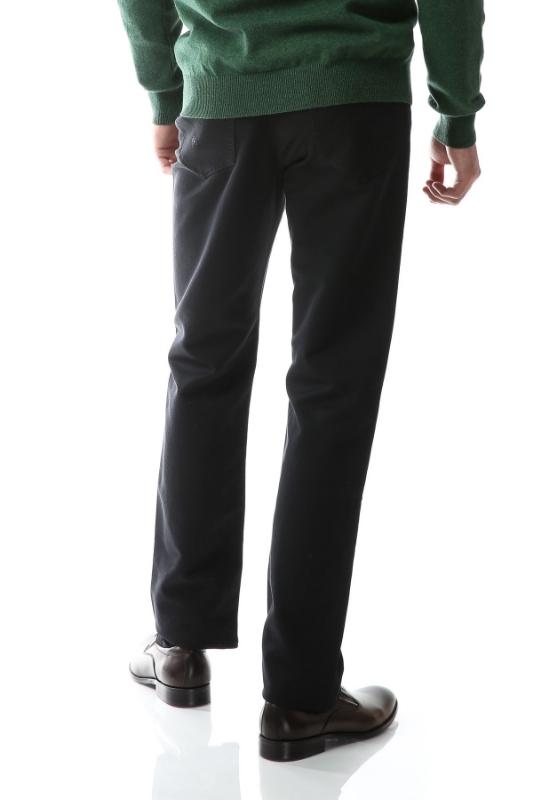 Pantaloni gri inchis spre negru R861-1