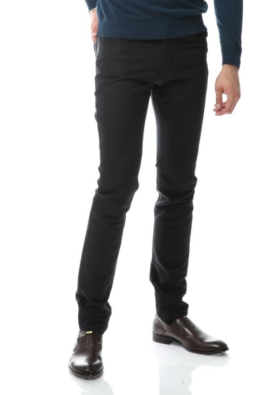 Imagine Pantaloni verde inchis spre bleumarin S861-1