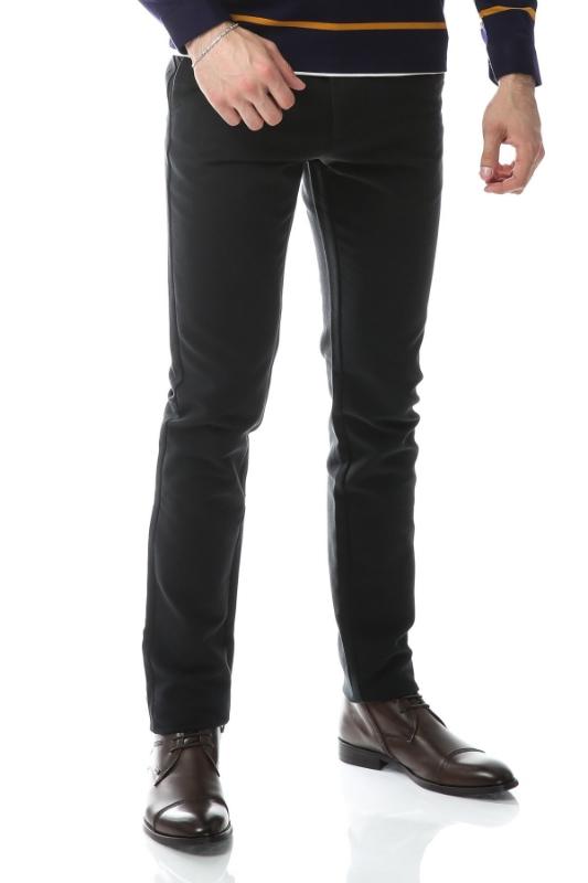 Imagine Pantaloni verde inchis spre bleumarin S862-1