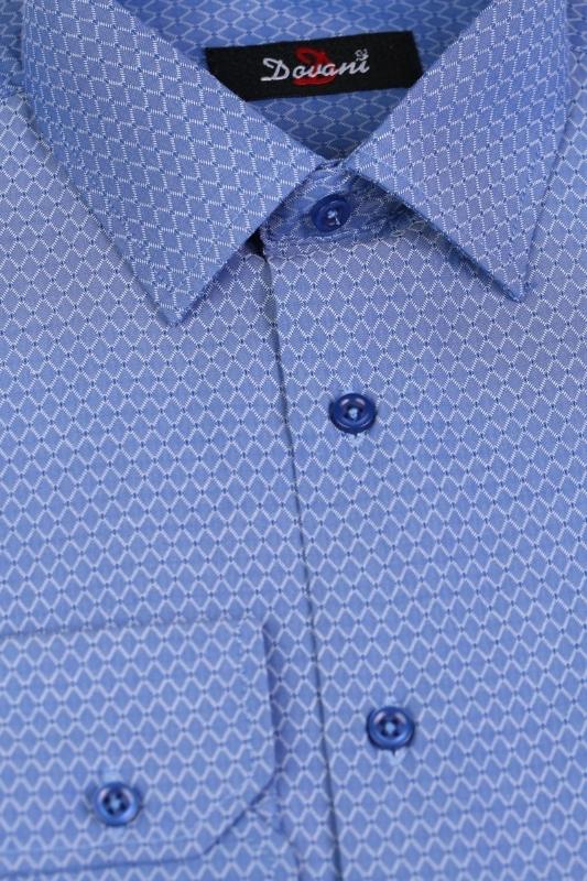 Camasa clasica albastra 619-32