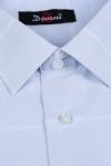 Imagine Camasa clasica bleu cu dungi albe 9730-2