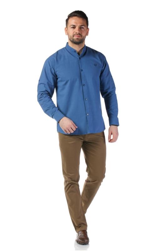 Camasa casual albastra 338-2