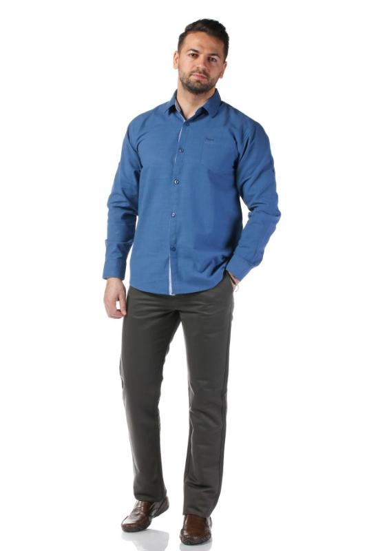 Camasa casual albastra 992-2