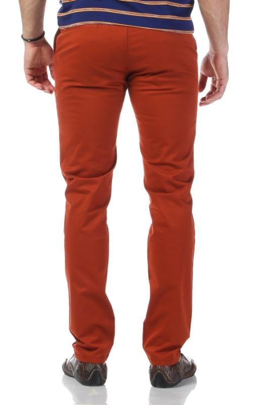 Pantaloni caramizii 321-3