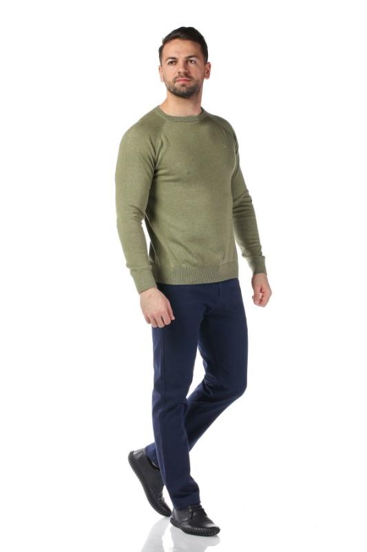 Pulover verde 17015-3