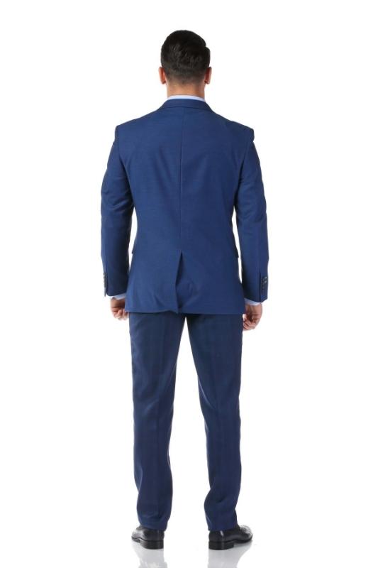 Sacou albastru B19185-76