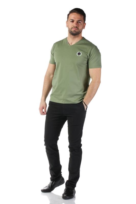 Tricou verde 1801-4