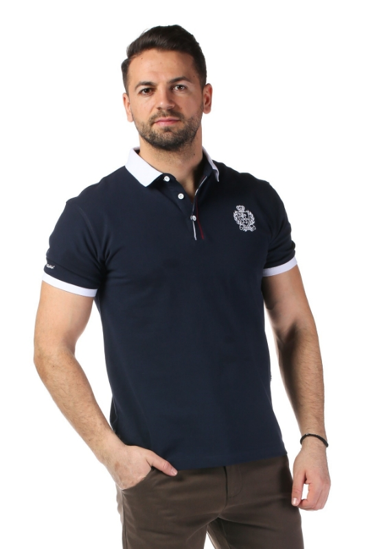 Imagine Tricou bleumarin 1804-3