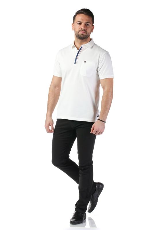 Tricou alb A18722-1